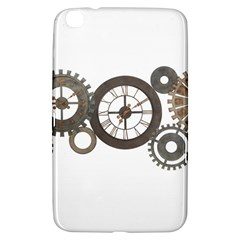 Hour Time Iron Samsung Galaxy Tab 3 (8 ) T3100 Hardshell Case  by Mariart