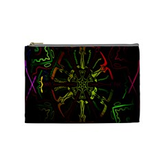 Inner Peace Star Space Rainbow Cosmetic Bag (medium)