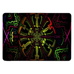 Inner Peace Star Space Rainbow Samsung Galaxy Tab 8 9  P7300 Flip Case by Mariart