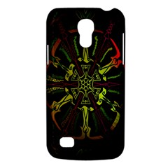Inner Peace Star Space Rainbow Galaxy S4 Mini by Mariart