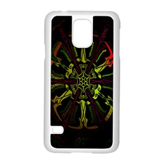 Inner Peace Star Space Rainbow Samsung Galaxy S5 Case (white) by Mariart