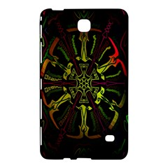 Inner Peace Star Space Rainbow Samsung Galaxy Tab 4 (8 ) Hardshell Case  by Mariart