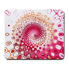 Hple Plaid Chevron Pink Red Large Mousepads by Mariart