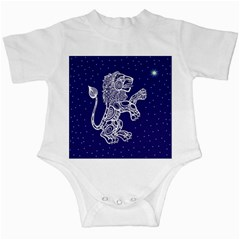 Leo Zodiac Star Infant Creepers by Mariart