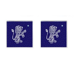 Leo Zodiac Star Cufflinks (square) by Mariart