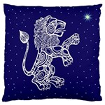 Leo Zodiac Star Large Cushion Case (Two Sides) Front