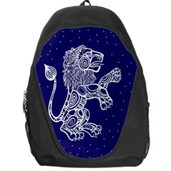 Leo Zodiac Star Backpack Bag by Mariart