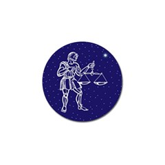 Libra Zodiac Star Golf Ball Marker (10 Pack) by Mariart