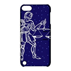 Libra Zodiac Star Apple Ipod Touch 5 Hardshell Case With Stand by Mariart