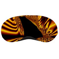 Hole Gold Black Space Sleeping Masks by Mariart