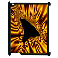 Hole Gold Black Space Apple Ipad 2 Case (black) by Mariart