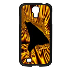 Hole Gold Black Space Samsung Galaxy S4 I9500/ I9505 Case (black) by Mariart