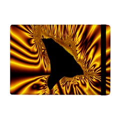 Hole Gold Black Space Ipad Mini 2 Flip Cases by Mariart