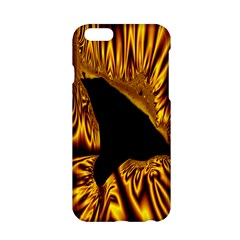 Hole Gold Black Space Apple Iphone 6/6s Hardshell Case by Mariart