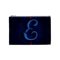 Marquis Love Dope Lettering Blue Red Alphabet E Cosmetic Bag (medium)  by Mariart