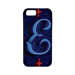 Marquis Love Dope Lettering Blue Red Alphabet E Apple Iphone 5 Classic Hardshell Case (pc+silicone) by Mariart