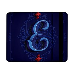Marquis Love Dope Lettering Blue Red Alphabet E Samsung Galaxy Tab Pro 8 4  Flip Case by Mariart