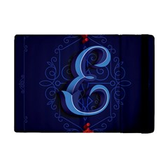Marquis Love Dope Lettering Blue Red Alphabet E Ipad Mini 2 Flip Cases by Mariart