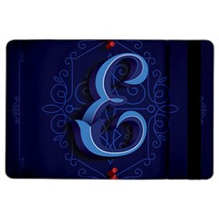 Marquis Love Dope Lettering Blue Red Alphabet E Ipad Air 2 Flip by Mariart