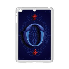 Marquis Love Dope Lettering Blue Red Alphabet O Ipad Mini 2 Enamel Coated Cases by Mariart
