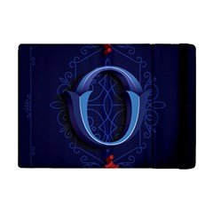 Marquis Love Dope Lettering Blue Red Alphabet O Ipad Mini 2 Flip Cases by Mariart