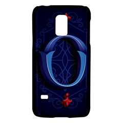 Marquis Love Dope Lettering Blue Red Alphabet O Galaxy S5 Mini by Mariart