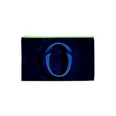 Marquis Love Dope Lettering Blue Red Alphabet O Cosmetic Bag (xs) by Mariart