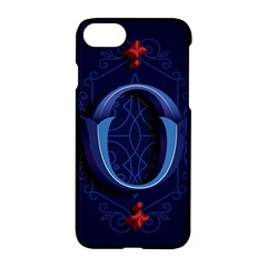 Marquis Love Dope Lettering Blue Red Alphabet O Apple Iphone 7 Hardshell Case