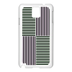 Mccollough Test Image Colour Effec Line Samsung Galaxy Note 3 N9005 Case (white)