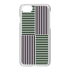 Mccollough Test Image Colour Effec Line Apple Iphone 7 Seamless Case (white) by Mariart