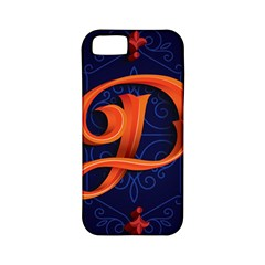 Marquis Love Dope Lettering Blue Red Orange Alphabet P Apple Iphone 5 Classic Hardshell Case (pc+silicone) by Mariart