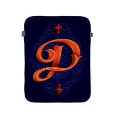 Marquis Love Dope Lettering Blue Red Orange Alphabet P Apple Ipad 2/3/4 Protective Soft Cases by Mariart