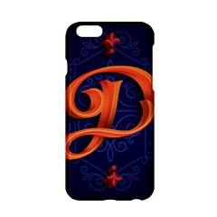 Marquis Love Dope Lettering Blue Red Orange Alphabet P Apple Iphone 6/6s Hardshell Case by Mariart