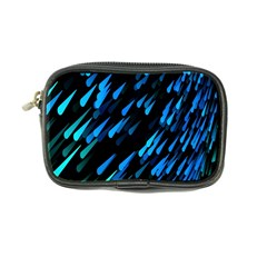 Meteor Rain Water Blue Sky Black Green Coin Purse by Mariart