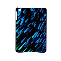 Meteor Rain Water Blue Sky Black Green Ipad Mini 2 Hardshell Cases