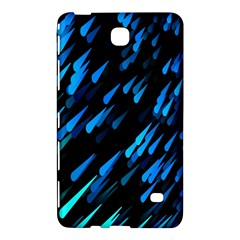 Meteor Rain Water Blue Sky Black Green Samsung Galaxy Tab 4 (8 ) Hardshell Case  by Mariart