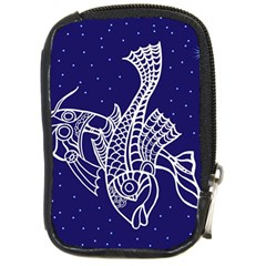 Pisces Zodiac Star Compact Camera Cases by Mariart