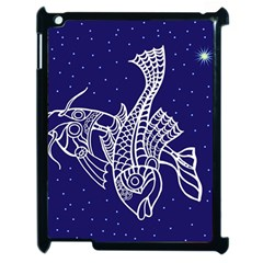 Pisces Zodiac Star Apple Ipad 2 Case (black) by Mariart