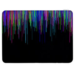 Rain Color Paint Rainbow Samsung Galaxy Tab 7  P1000 Flip Case by Mariart