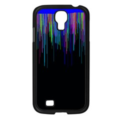 Rain Color Paint Rainbow Samsung Galaxy S4 I9500/ I9505 Case (black) by Mariart