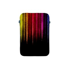 Rain Color Rainbow Line Light Green Red Blue Gold Apple Ipad Mini Protective Soft Cases by Mariart