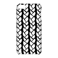 Ropes White Black Line Apple Ipod Touch 5 Hardshell Case With Stand by Mariart