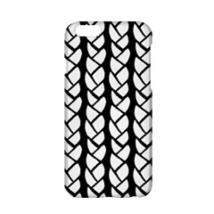 Ropes White Black Line Apple Iphone 6/6s Hardshell Case by Mariart