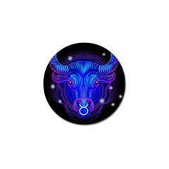 Sign Taurus Zodiac Golf Ball Marker (10 Pack) by Mariart