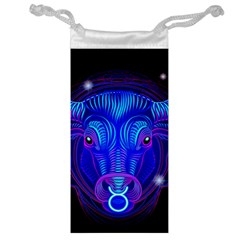 Sign Taurus Zodiac Jewelry Bag by Mariart