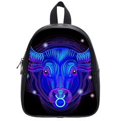 Sign Taurus Zodiac School Bags (small)  by Mariart