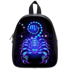 Sign Scorpio Zodiac School Bags (small)  by Mariart