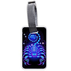 Sign Scorpio Zodiac Luggage Tags (two Sides) by Mariart