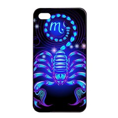 Sign Scorpio Zodiac Apple Iphone 4/4s Seamless Case (black) by Mariart