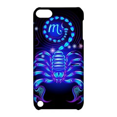 Sign Scorpio Zodiac Apple Ipod Touch 5 Hardshell Case With Stand by Mariart